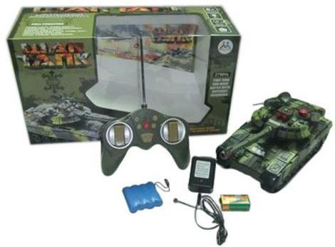 Танк на радиоуправлении Shantou Gepai War зелёный от 3 лет пластик 635534 игрушка shantou gepai танк 369 32