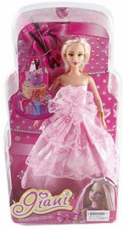 Кукла Shantou Gepai Яни 29 см со скрипкой, блистер 6696-5 кукла shantou gepai early words 9822