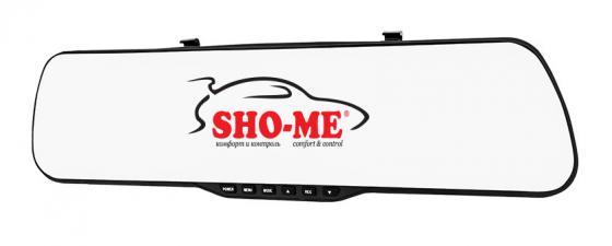 Видеорегистратор Sho-Me SFHD 400 4.3 1920x1080 3Mp 120° G-сенсор microSD microSDHC видеорегистратор sho me sfhd 400 черный