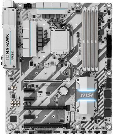 все цены на Материнская плата MSI Z270 TOMAHAWK ARCTIC Socket 1151 Z270 4xDDR4 3xPCI-E 16x 3xPCI-E 1x 6xSATAIII ATX Retail онлайн
