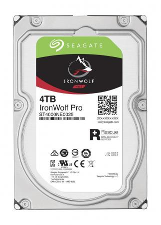 Жесткий диск 3.5 4Tb 7200rpm Seagate IronWolf Pro SATAIII ST4000NE0025 seagate seagate ironwolf