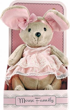"""Мягкая игрушка мышка Fluffy Family Lady mouse """"Зефирка"""" 25 см разноцветный текстиль мягкая игрушка мышка fluffy family lady mouse"""