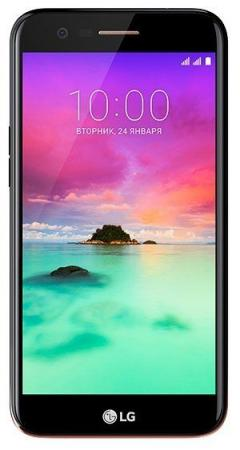 Смартфон LG K10 (2017) золотистый 5.3 16 Гб Wi-Fi GPS 3G 4G LGM250.ACISGK смартфон meizu m6 note золотистый 5 5 16 гб lte wi fi gps