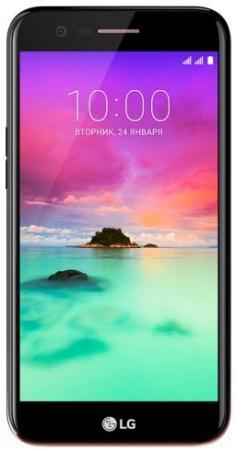 Смартфон LG K10 (2017) черный 5.3 16 Гб LTE Wi-Fi GPS 3G 4G LGM250.ACISBK смартфон