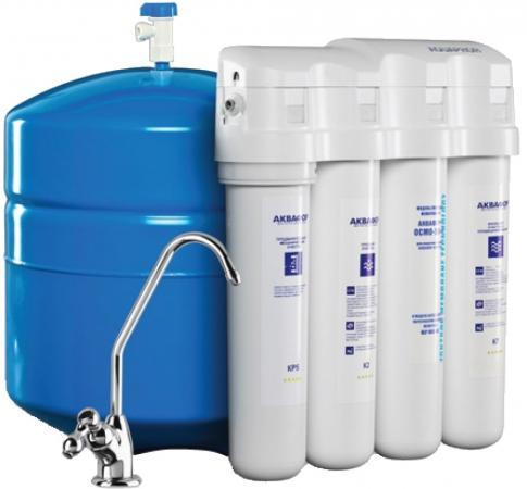 Фильтр для воды Аквафор ОСМО-050-4-М 10л водоочиститель аквафор осмо 100 5 a 10л