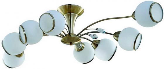 Потолочная люстра IDLamp Fina 830/8PF-Oldbronze idlamp idlamp 830 8pf whitechrome