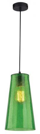 Подвесной светильник IDLamp Iris Color 243/1-Green подвесной светильник idlamp iris color 243 1 brown