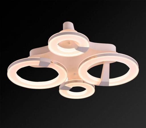 Потолочный светодиодный светильник IDLamp Jenevra 397/4PF-LEDWhitechrome потолочный светодиодный светильник idlamp 397 2pf ledwhitechrome