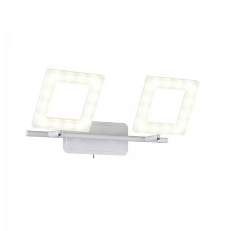 Светодиодный спот IDLamp Piazza 106/2A-LEDWhitesand все цены