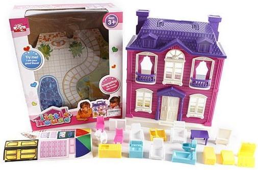 Дом для кукол Shantou Gepai Дом с мебелью 897 платье для кукол shantou gepai
