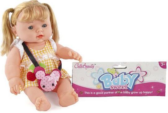 Кукла Shantou Gepai 30 см, в ассорт., пакет Y20200020 shantou gepai кукла озвученная 30 см с коляской shantou gepai