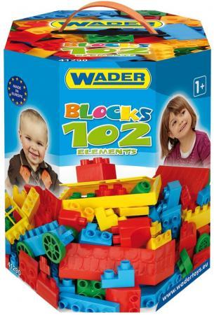 Конструктор Wader Великан 102 элемента для мальчиков 41290 bossini брюки bossini 51 41290 00 990 черный
