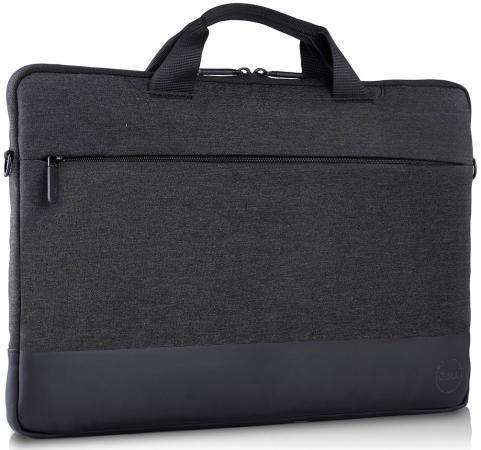 Сумка для ноутбука 13.3 DELL Professional синтетика черный 460-BCFL цена