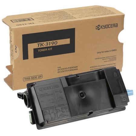 Картридж Kyocera TK-3190 для Kyocera P3055dn/P3060dn черный 25000стр sakura tk3190 black тонер картридж для kyocera mita ecosys p3055dn p3060dn