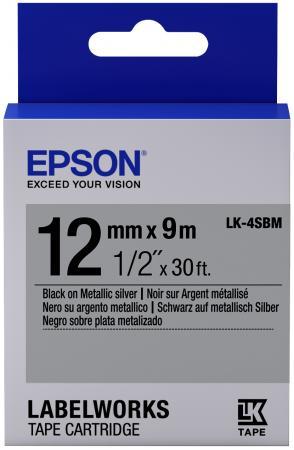 Лента Epson LK-4SBM C53S654019