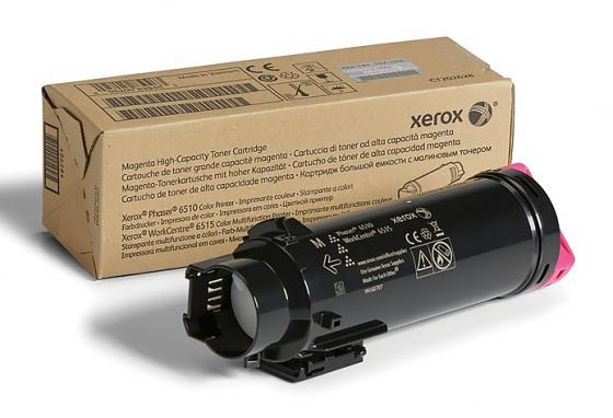 Картридж Xerox 106R03486 для Phaser 6510/WC 6515 пурпурный 2400стр модуль памяти hp 16gb 2rx4 pc3 12800r 11 kit 672631 b21