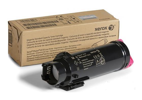 Картридж Xerox 106R03482 для Phaser 6510/WC 6515 пурпурный 1000стр картридж xerox 106r03694 для phaser 6510 wc 6515 пурпурный 4300стр