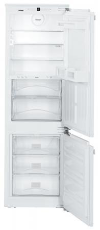 Холодильник Liebherr ICBN 3324-20 001 белый встраиваемый двухкамерный холодильник liebherr icbn 3324 21