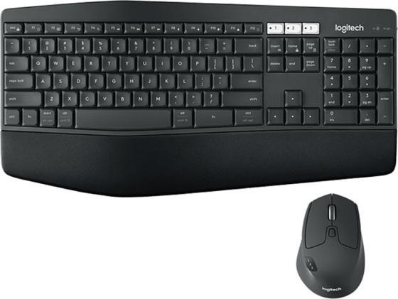 Комплект Logitech MK850 черный USB 920-008232 комплект logitech mk220 черный usb 920 003169