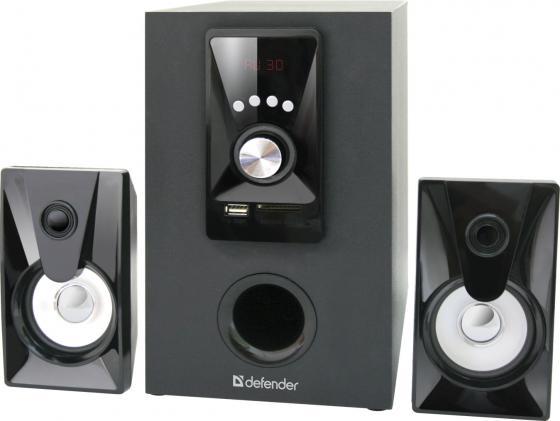 Колонки DEFENDER X100 5+2x2.5 Вт черный 65520 philips x100 отзывы
