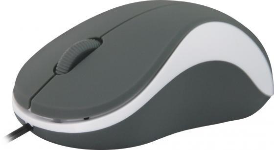 Мышь проводная Defender Accura MS-970 серый белый USB 52970