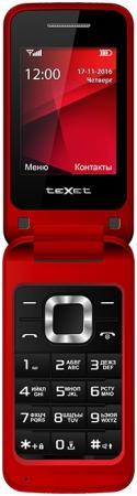 Мобильный телефон Texet TM-304 красный 2.4