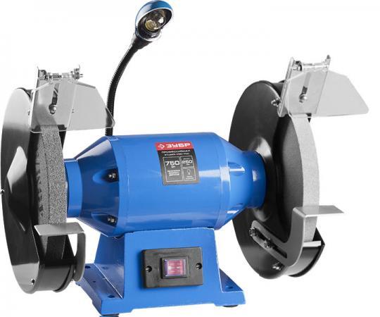 Станок точильный Зубр ЗТШМЭ-250-750 точильный станок зубр зтшмэ 200 600
