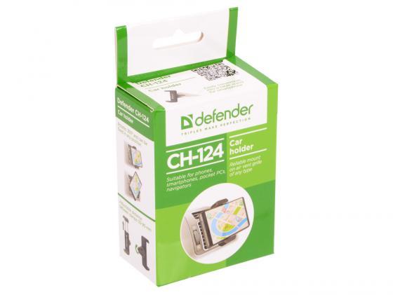 Автомобильный держатель Defender CH-124 для смартфонов шириной 55-90мм 29124