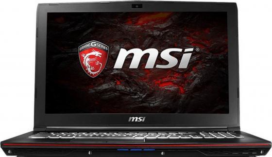 Ноутбук MSI GP62 7RD-463RU Leopard 15.6 1920x1080 Intel Core i5-7300HQ 1 Tb 8Gb nVidia GeForce GTX 1050 2048 Мб черный Windows 10 Home 9S7-16J942-463 ноутбук msi gs43vr 7re 094ru phantom pro 9s7 14a332 094
