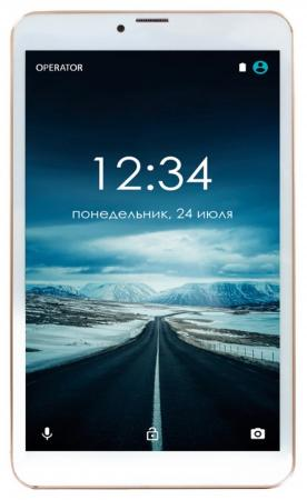 Планшет GINZZU GT-8005 8 8Gb золотистый Wi-Fi Bluetooth 3G Android GT-8005 Gold ginzzu gt x770 v2 lte 8gb white