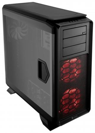 Корпус ATX Corsair Graphite Series 760T Без БП чёрный CC-9011073-WW корпус corsair obsidian series 350d window cc 9011029 ww