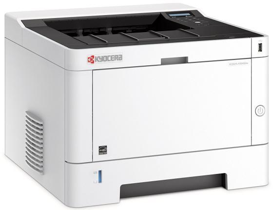Фото - Принтер Kyocera P2040Dw ч/б A4 40ppm 1200x1200dpi Ethernet Wi-Fi USB принтер xerox versalink b400v dn ч б a4 45ppm 1200x1200dpi ethernet usb