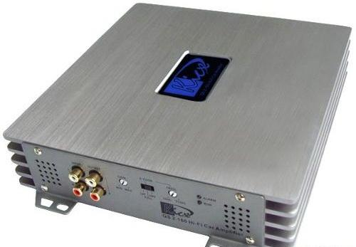 Усилитель звука Kicx QS 2.160M 2-канальный 2x160 Вт усилитель автомобильный kicx qs 2 160m qs 2 160m black edition