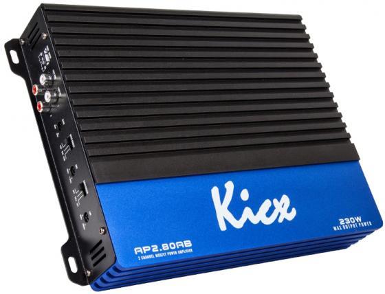 Усилитель звука Kicx AP 2.80AB 2-канальный 2x80 Вт kicx ap 4 120ab