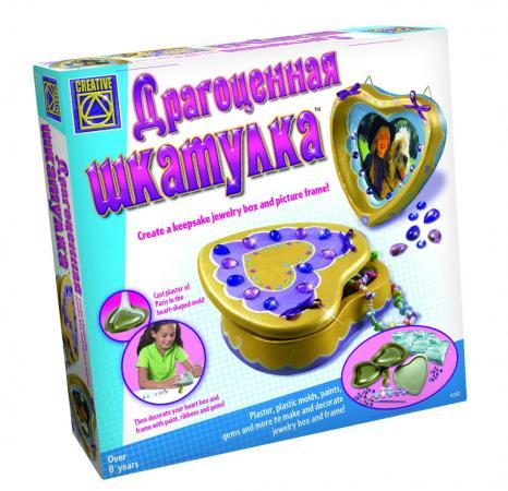 Набор для творчества CREATIVE Драгоценная шкатулка 5251 creative набор для творчества браслеты арт деко