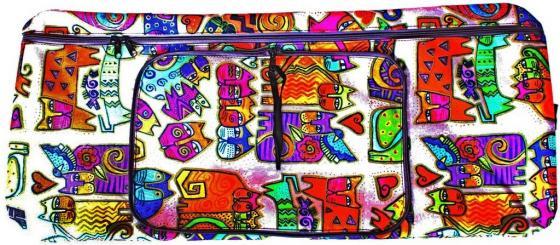 Чехол-портмоне Y-SCOO 230 Кошки разноцветный