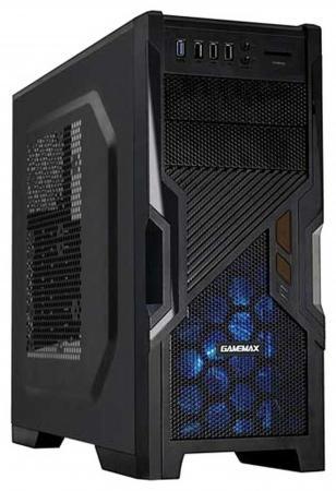 Корпус ATX GameMax G505BK Без БП чёрный gamemax [h605 tb] без бп mini tower atx