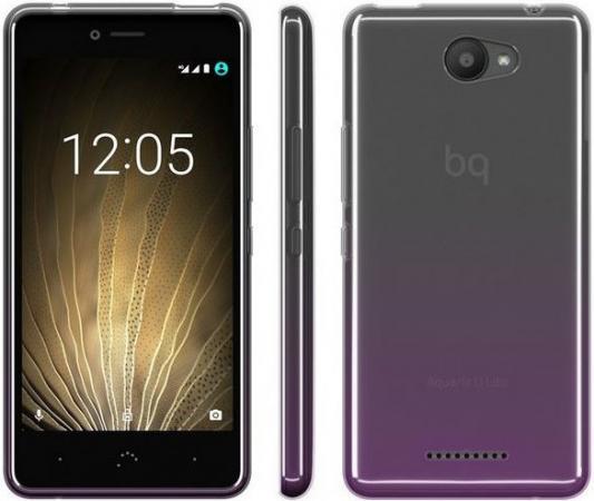Чехол BQ для BQ Aquaris U/U Lite пурпурный чехол bq для bq aquaris m5 серый e000594