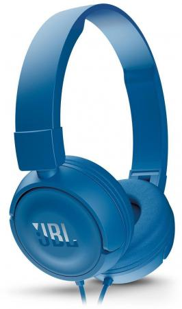 Гарнитура JBL T450 синий JBLT450BLU гарнитура jbl e35 red