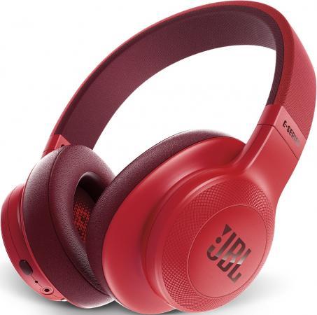 Гарнитура JBL E55BT красный JBLE55BTRED гарнитура jbl synchros e40bt white