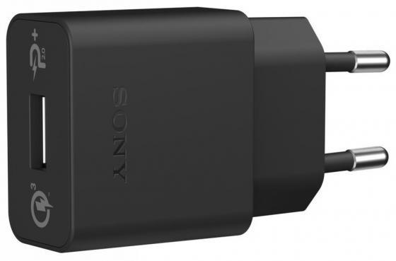 Сетевое зарядное устройство Sony UCH12W USB черный сетевое зарядное устройство mobiledata 2a 1 usb белый