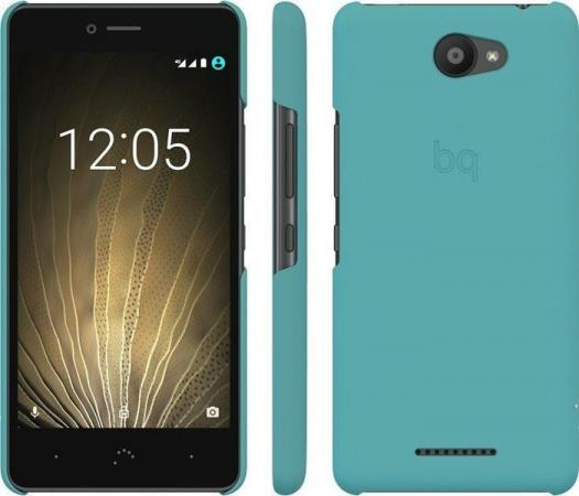 Чехол BQ для BQ Aquaris U/U Lite синий E000717 сотовый телефон bq aquaris u plus 32gb black