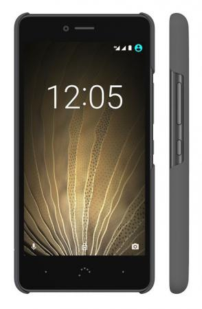 Чехол BQ для BQ Aquaris U/U Lite серый E000715 bq bq aquaris m5 black white