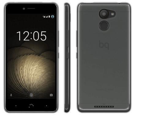 Чехол BQ для BQ Aquaris U Plus прозрачный E000711