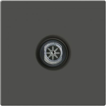 ТВ-розетка проходная серо-коричневый WL07-TV-2W 4690389073502 бра colosseo susanna 80311 2w