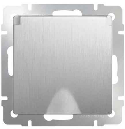 Розетка с заземлением с защитной крышкой и шторками WL09-SKGSC-01-IP44 4690389085093