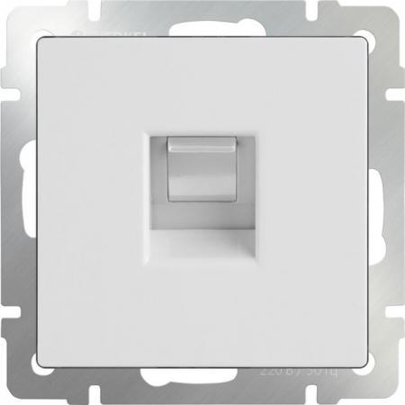 Розетка Ethernet RJ-45 белая WL01-RJ-45 4690389045653