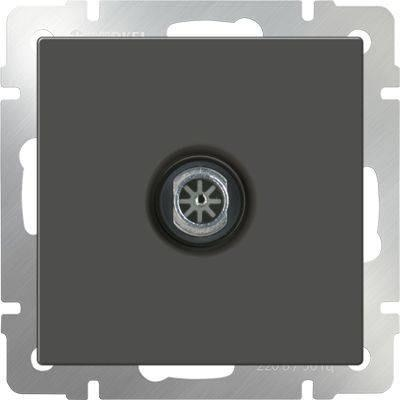 ТВ-розетка оконечная серо-коричневая WL07-TV 4690389054112 тв розетка abb bjb basic 55 шале оконечная цвет белый