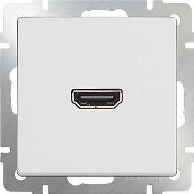 Розетка HDMI белая WL01-60-11 4690389097447