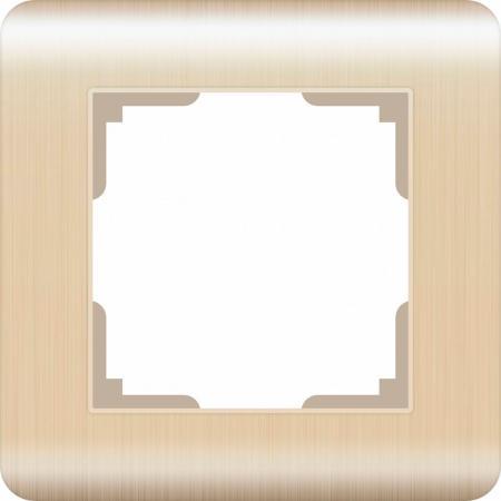 Рамка Stream на 1 пост шампань WL12-Frame-01 4690389079122 цена